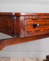 Regency Mahogany Writing Table (6 of 9)