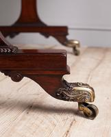 Regency Mahogany Writing Table (8 of 9)