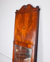 19th Century Full Length Mahogany Pier Mirror (3 of 7)