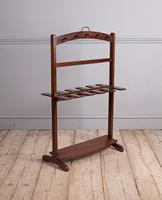 George III Mahogany Boot Rack