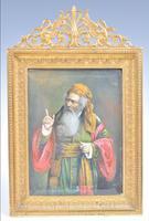 19th Century Painting in Gilt Ormolu Frame