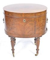 Late 18th / Early 19th Century Oval Wine Cooler on Stand