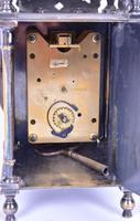 Edwardian Silver Plated Lantern Clock (2 of 4)
