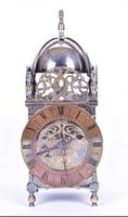 Edwardian Silver Plated Lantern Clock (4 of 4)
