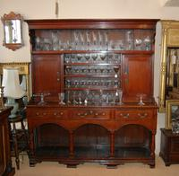Dresser Patinated Late 18th Century Pine Pot Board Dresser from Mid Wales