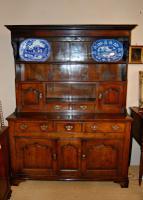 Exception Mid 18th Century Oak Dresser