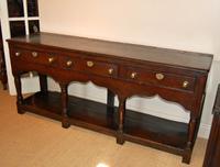 18th Century Welsh Oak Montgomeryshire Dresser Base
