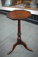 Hexagonal 18th Century Oak Wine Table