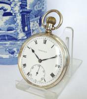 Silver Vertex Pocket Watch, 1937