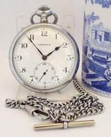 Vintage 1930s Vertex Pocket Watch & Chain