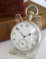 Astoria Silver Pocket Watch by Cyma 1945
