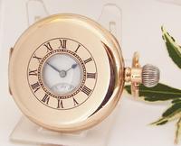 Vintage 1920s Tavannes Half Hunter Pocket Watch