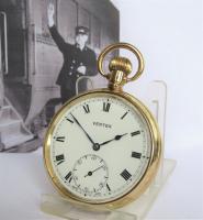 1930s Vertex Pocket Watch, British Rail