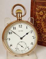 Vintage 1930s Cyma Pocket Watch