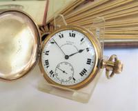Royal Lancashire Lever Hunter Pocket Watch by Cyma