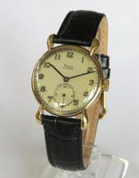 Mid-Size 9ct Gold Rone Fifteen Wrist Watch, 1947