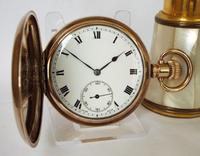 1930s Cyma Full Hunter Pocket Watch