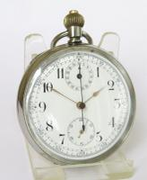Minerva Chronograph Pocket Watch c.1920 (2 of 5)