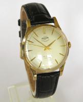 Gents 9ct Gold Enicar Ultrasonic Wrist Watch, 1956 (2 of 5)