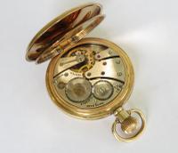 1930s Vertex Half Hunter Pocket Watch (3 of 5)