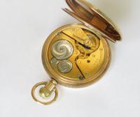 1921 Elgin Full Hunter Pocket Watch (3 of 5)