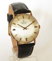 Gents 9ct Gold Marvin Revue Wrist Watch (2 of 5)