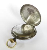 1920s Junghans Gun Metal Pocket Watch (4 of 5)