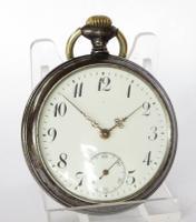 1920s Junghans Gun Metal Pocket Watch (2 of 5)