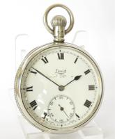 Antique Silver Limit Pocket Watch, 1908 (2 of 5)