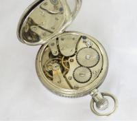 Antique Silver Limit Pocket Watch, 1908 (4 of 5)