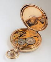 Antique 1920 Waltham Pocket Watch (4 of 5)
