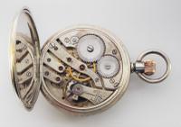 Antique 1908 Swiss Silver Pocket Watch. (5 of 5)