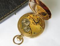 1901 Waltham Half Hunter Pocket Watch For Schierwater & Lloyd (4 of 5)