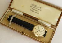 Gents 9ct Gold Smiths De Luxe Wrist Watch, 1963 (3 of 5)