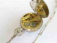 1930sSilverTavannes CymaPocket WatchFor Benson (2 of 4)