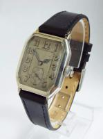 Gents Silver Art Deco Wrist Watch by Rotary 1929