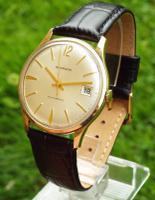 Gents 9 Carat Gold Wrist Watch made for Garrard