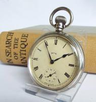 1947 Silver Smiths Pocket Watch, Made in England