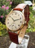 Gents 9ct Gold Garrard Wristwatch, 1963