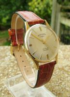 1962 Gents / Ladies 9 Carat Gold Rotary Wrist Watch
