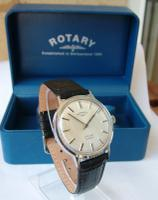 Gents 1960s Rotary Wrist Watch with Box