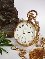 1920s State / Tavannes Pocket Watch with Chain