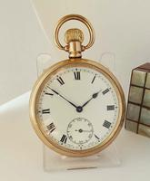 1920s Tavannes Open Faced Pocket Watch