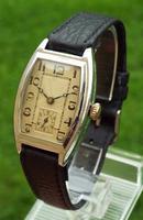 1930s Art Deco Rotary Wrist Watch