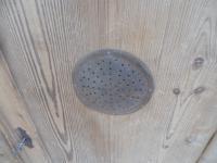 Victorian 1 Door 3 Drawer Antique Pine Kitchen / Storage Cupboard to wax / paint (13 of 13)