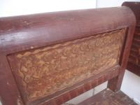 Large Originally Painted Victorian Antique Pine Kitchen Box / Settle / Bench (7 of 10)