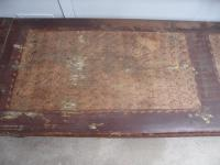 Large Originally Painted Victorian Antique Pine Kitchen Box / Settle / Bench (8 of 10)