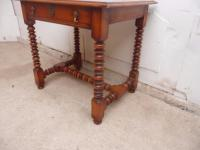 Top Quality Bobbin Turned 1 Drawer Cherrywood Side Table (10 of 11)