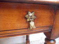 Top Quality Bobbin Turned 1 Drawer Cherrywood Side Table (4 of 11)