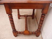 Top Quality Bobbin Turned 1 Drawer Cherrywood Side Table (3 of 11)